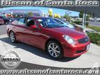2006 INFINITI G35 Base 4dr Sedan w/Automatic
