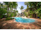Key West Three BR Three BA, Rare & remarkable triple lot property in