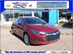 2019 Chevrolet Cruze Red, new