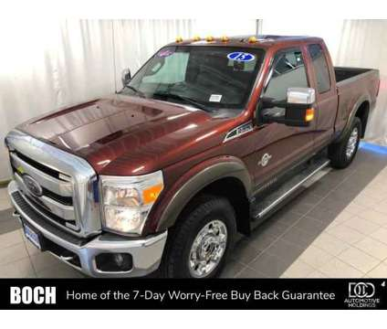 Used 2015 Ford Super Duty F-350 SRW 4WD SuperCab 142 is a Tan 2015 Ford Car for Sale in Norwood MA