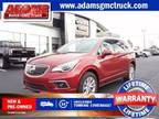 2018 Buick Envision Red, new