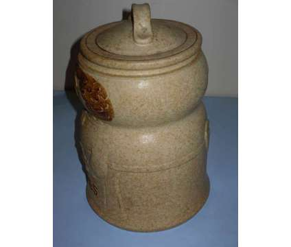 Vintage Mid-Century Pottery Craft Cookie Jar is a Collectibles for Sale in Webster NY