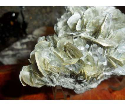 Beautiful 215 grams Aquamarine Cluster on a Beautiful Mica Matrix is a Blue Collectibles for Sale in New York NY
