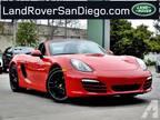 2014 Porsche Boxster Base 2dr Convertible