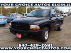 2002 Black Dodge Dakota