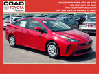 2019 Toyota Prius Red, new