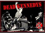 "4.25"" Dead Kennedys Live vinyl sticker. Punk decal for car"