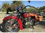 1938, Indian, Chief Vintage Motorcycle