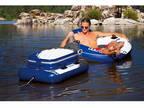 Intex Mega Chill II, Inflatable floating cooler 48x38