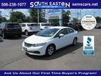2015 Honda Civic White, 73K miles