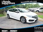 2016 Honda Civic White, 26K miles