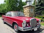 1964 Mercedes-Benz 220 Red, 57K miles