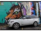 2014 Land Rover Range Rover White, 65K miles