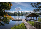One of Shawnigan Lake's most stunning lakefront estates
