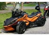 2013 CAN-AM SPYDER SM5 orange RS-S