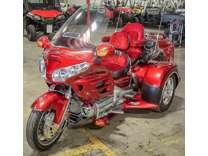 2008 Honda GL1800HPN Gold Wing with Champion Trike Kit & Cruiser Trailer