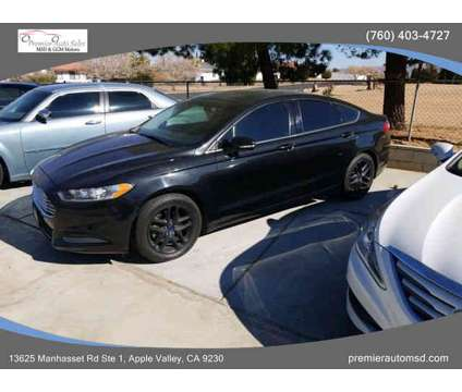 2013 Ford Fusion for sale is a Black 2013 Ford Fusion Car for Sale in Apple Valley CA