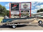 2000 Crestliner 1600 Fish Hawk SC w/40hp