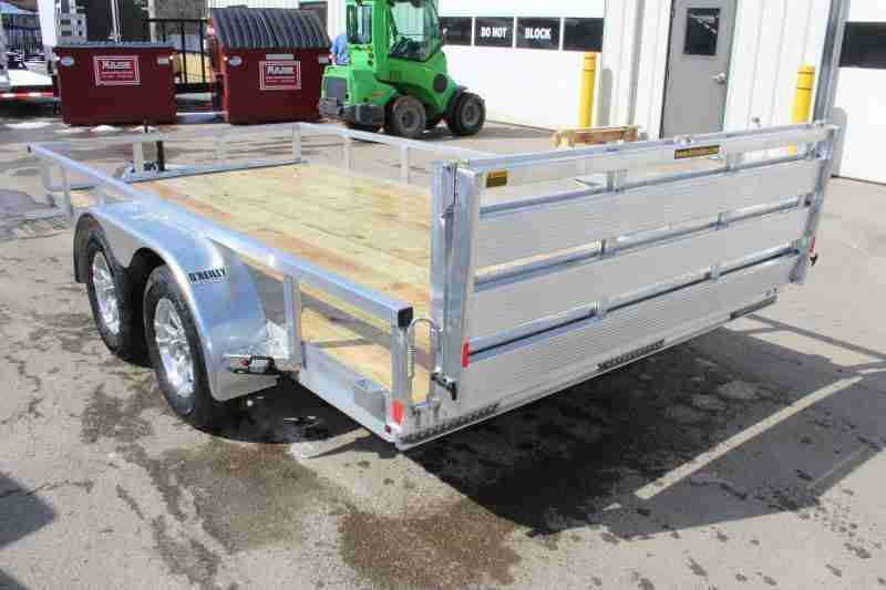 2020 H and H Trailer 6.8 x 14'
