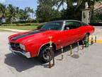 1970 Red Chevrolet Chevelle LS
