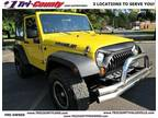2008 Jeep Wrangler Yellow, 140K miles