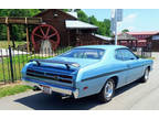 1970 Blue Plymouth Duster