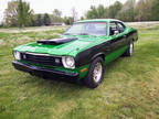 1975 Green Plymouth Duster