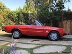 1974 Alfa Romeo Spider Red Partially Restored