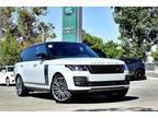 2020 Land Rover Range Rover Silver, 18 miles