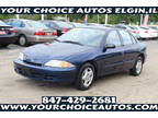 2001 Blue Chevrolet Cavalier