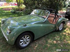 1961 Triumph Tr3 Roadster Restored