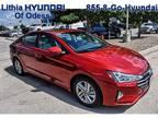 2020 Hyundai Elantra Red, new