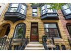 Chicago Four BR Five BA, Exquisite 3-story Gold Coast brownstone!