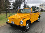 1974 Yellow Volkswagen Thing