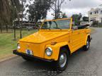 1974 Yellow Volkswagen Thing