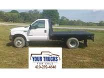2004 Ford F-350 4x4 Diesel Flatbed Truck