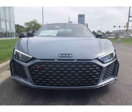 2020 Audi R8 Coupe V10 performance is a Grey 2020 Audi R8 5.2 competition Coupe in Hoffman Estates IL