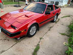 1984 Red Nissan 300zx Turbo