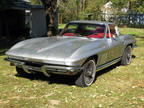 1965 Chevrolet Corvette 1965 silver coupe, L76 (365hp 327)