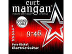 Curt Mangan 9-46 Round Core Pure Nickel Guitar Strings Free