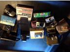Lot of vintage, old cameras