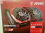 MSI RX 580 4GB GAMING X Graphics Card