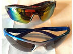 Nwot Lot of 2 Uv Protection Biking Cycling Wrap Sunglasses