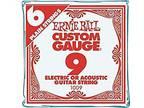 Ernie Ball Nickel Plain Single Guitar String.009 6-Pack
