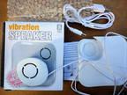 VIBRATION SPEAKER-COMPACT, PORTABLE-FOR MP3, i POD, PHONES, LA.