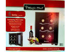 Mini Thermoelectric 6-Bottle Wine Cooler Fridge Bar Home