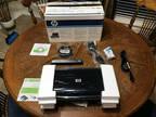 New In Box HP Officejet H470B Color Inkjet Mobile Printer
