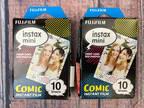 Fujifilm instax Mini 8 Instant Film 2 Pack Comic Design 20
