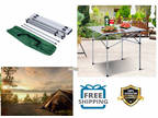 Camping Table Small Portable Folding Picnic Tailgating Side