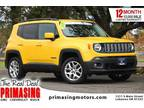 2015 Jeep Renegade Yellow, 42K miles